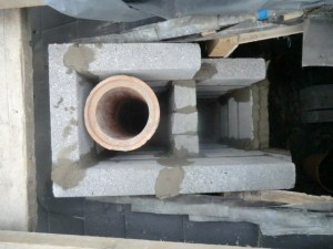 Clay flue lining | traditional flue lining | replacement flue lining for clay