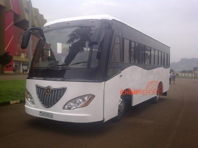 The Kayoala bus will be using solar energy