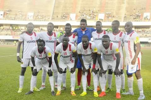 Uganda Cranes Starting eleven