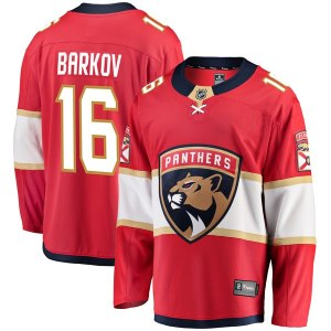 Men's Florida Panthers Aleksander Barkov Fanatics Branded Red Breakaway Jersey