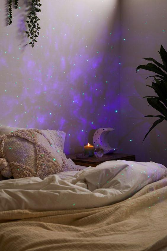 Galaxy night light projector