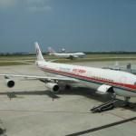 PLanes at Taipei Airport...