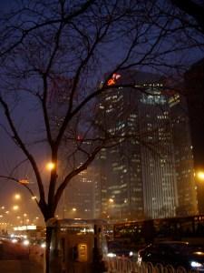Beijing Pollution Night-in-Beijing