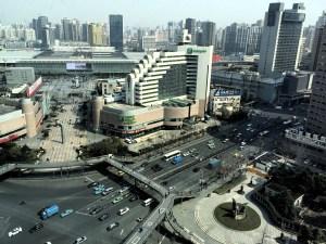 Shanghai-China-Train-Station