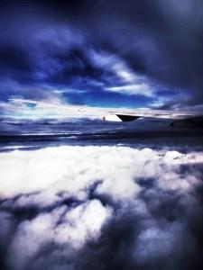 Clouds on Singapore flight