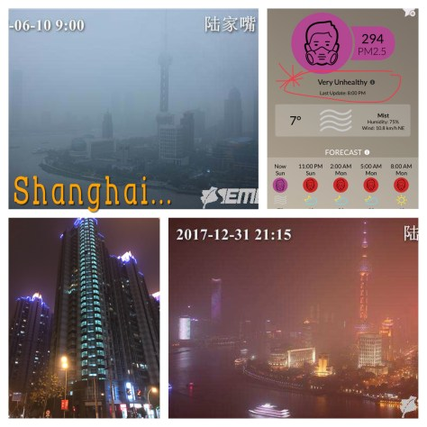 China, Shanghai, XIntiandi, Air Quality