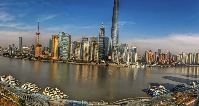 Shanghai Sunny Day Equals Good Views