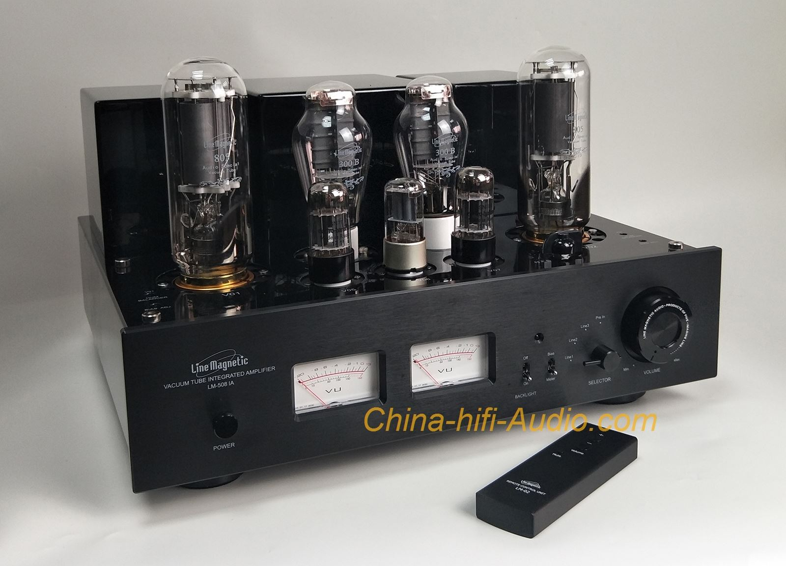 Line Magnetic Lm 508ia 300b 805 Tube Amp Class A Single