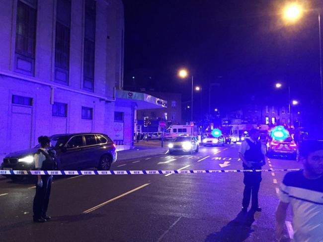 美大使馆遭自杀式炸弹袭击  男子身份不明