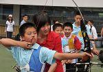 zhangjuanjuan with children
