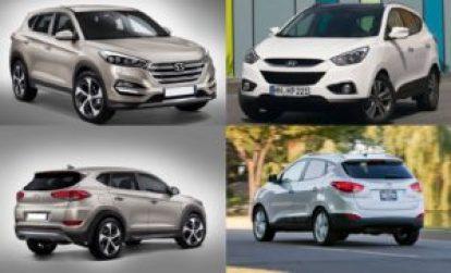 Различия между старым и новым Hyundai Tucson