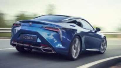 Lexus LC 500 красивый зверь