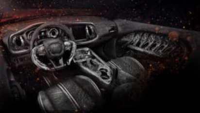Dodge Challenger SRT Hellcat с новым интерьером