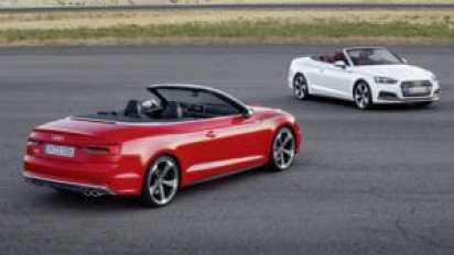 Новый Audi A5 и S5 Cabriolet