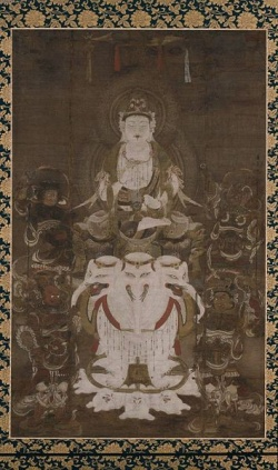 Eight Buddhist Patrons of 12 Zodiac Signs Chinese