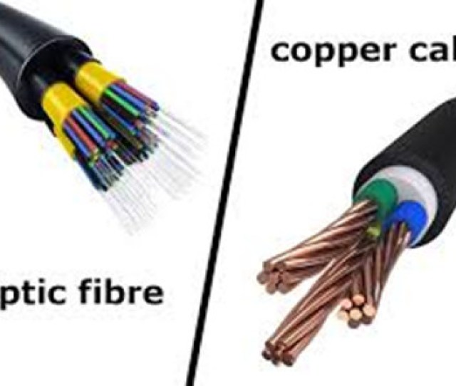 Fiber Optic Over Copper Cable