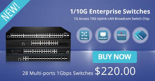 FS.COM S2800 LAN access switch