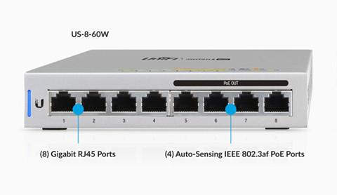 US-8 Managed Gigabit Switches