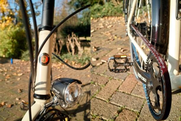 Es glänzt in der Sonne/Der neue Gates Carbon Drive CDX an den Fahrrädern