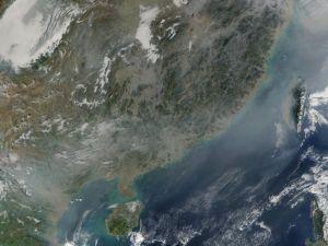 Hainan von der NASA aufgenommen.