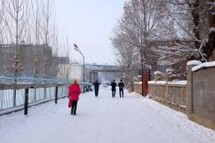 Heimweg zum Bishkek Guesthouse