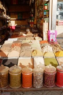 Gewürze und Tee in Kashgar