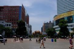 Fußgängerzone in Kunming