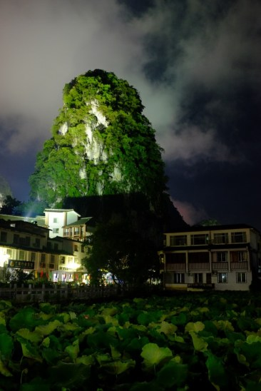 Yangshuo bei Nacht