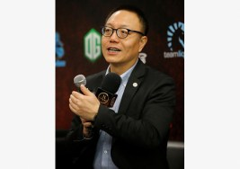 Xiao Hong, CEO of Perfect World Co Ltd