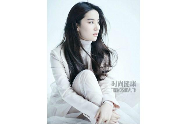 Fashion icon Liu Yifei poses for fashion magazine