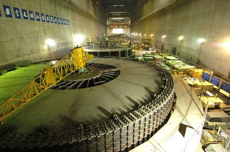 Three Gorges project generates 150b kwhs of electricity in ...
