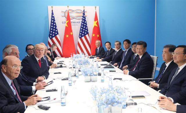Xi, Trump meet on ties, hot-spot issues on G20 sidelines