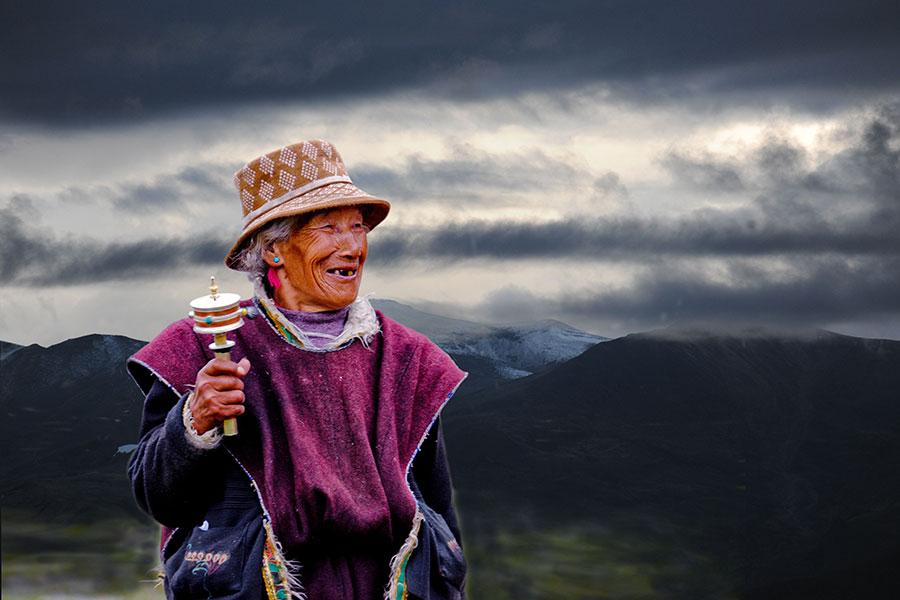 Amazing colors of Tibet