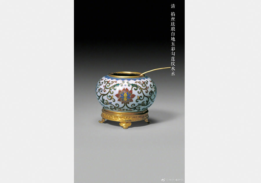 Ancient stationery Shui Cheng catches eyes