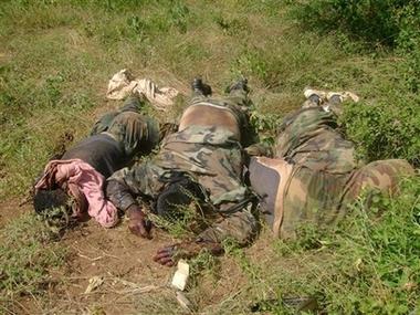 War dead in Somalia