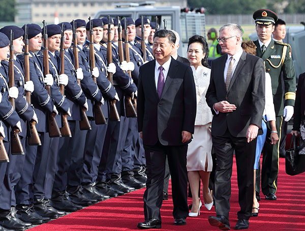 Xi: China, Germany set a great example in cooperation[1 ...