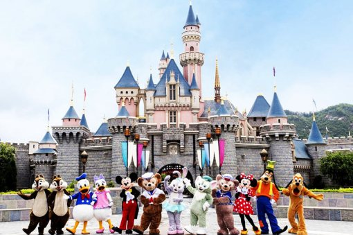 3 Days Hong Kong Disneyland Package Tour for Family with Kids
