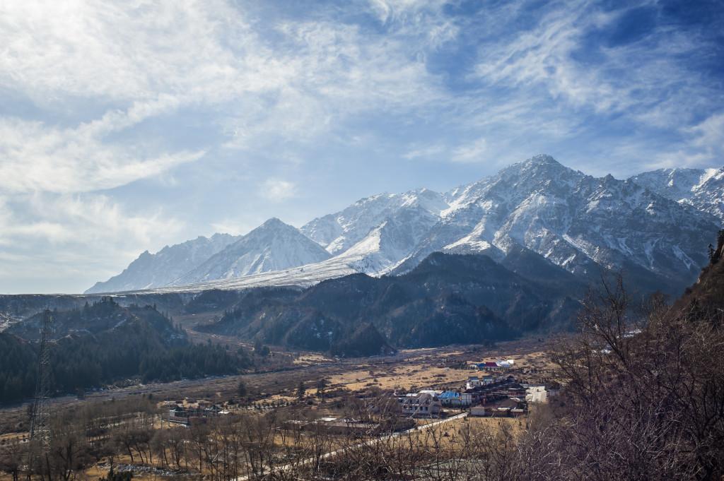 Landscape Qilian Mountain, Zhangye, Gansu