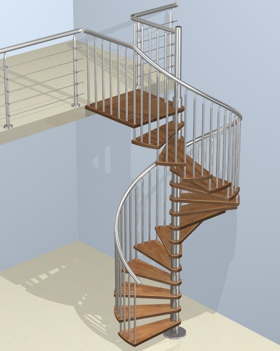 Steel Wood Spiral Staircase Wood Spiral Staircase Demax Arch | Wood Steps For Sale | Yard | Temporary | Design | Travel Trailer | Camper