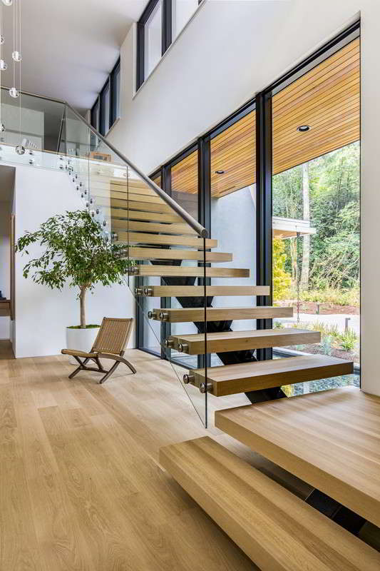 Mono Stringer Staircase Demax Arch