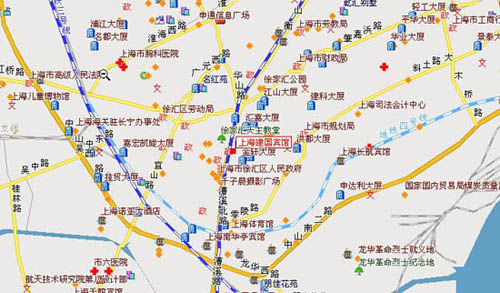 Satellite Anyang China Map