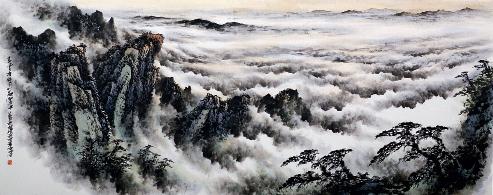 Ding Youhai, el de los pinceles mágicos