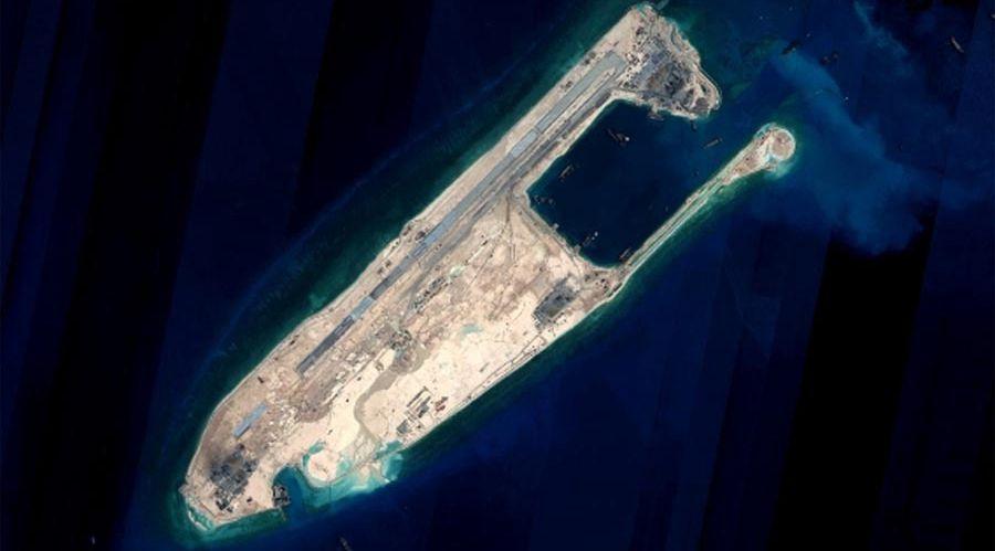 China completará pronto proyecto de recuperación de tierras en algunas de las islas Nansha