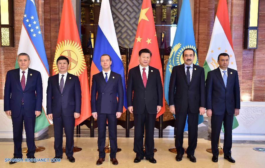 Presidente chino urge cooperación de OCS