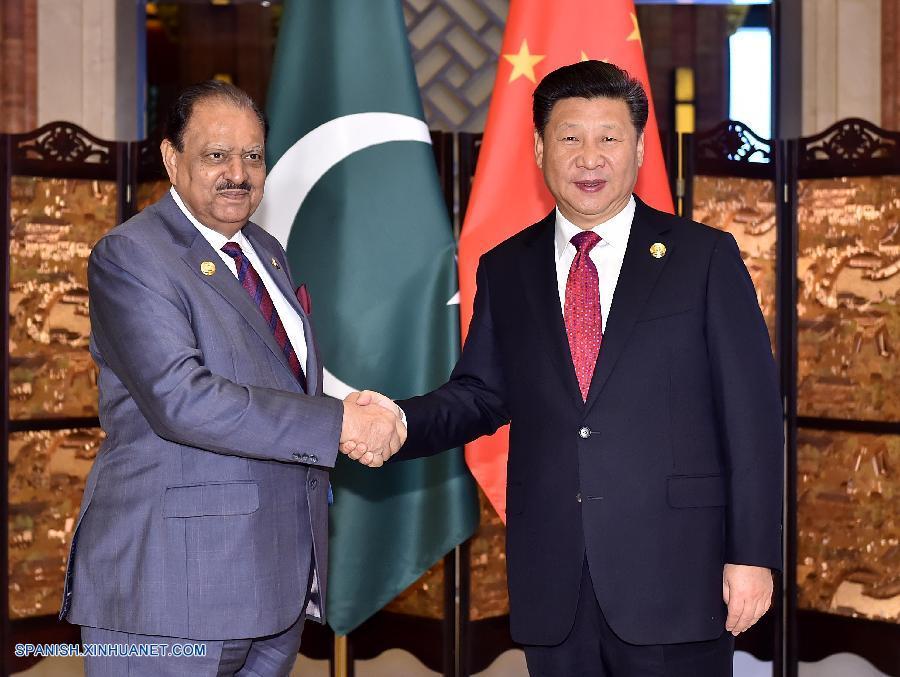 Presidentes de China y Pakistán se reúnen para fortalecer relaciones bilaterales