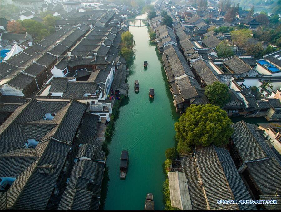 Wuzhen, sede ciudad de la II Conferencia Mundial de Internet