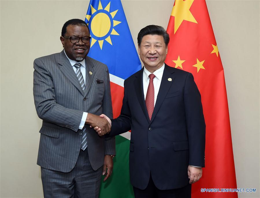 Xi: China profundizará cooperación en infraestructura con Namibia