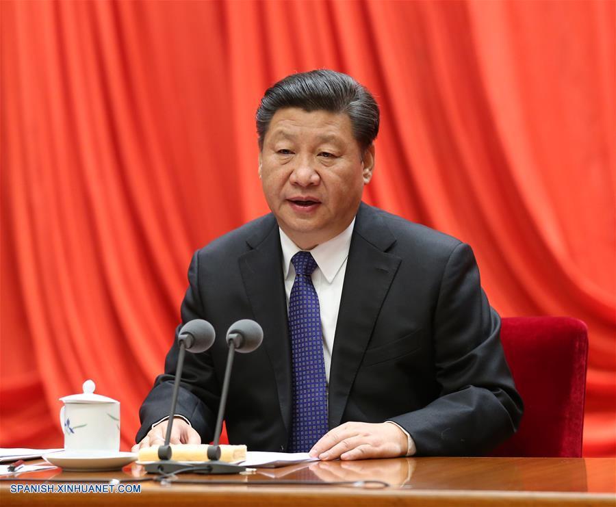 Presidente chino pide reforzar disciplina en gobernación estricta de PCCh