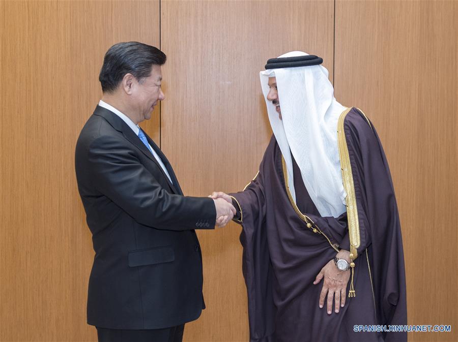 Presidente chino analiza cooperación en energía y comercio con jefe de CCG