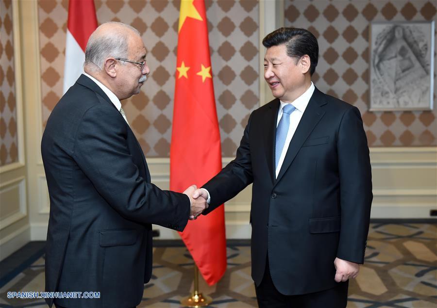 Xi: China anima a compañías a participar en proyectos de gran escala en Egipto